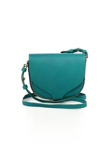 Sophie Hulme Barnsbury Mini Leather Saddle Bag