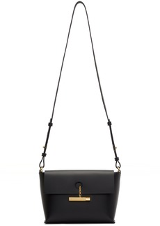 Sophie Hulme Black The Pinch Crossbody Bag
