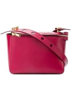 Sophie Hulme boxy top zip satchel