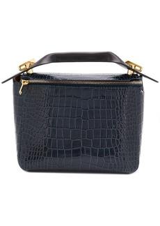 Sophie Hulme crocodile effect handbag