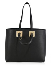 Sophie Hulme Soft East West Albion Leather Tote