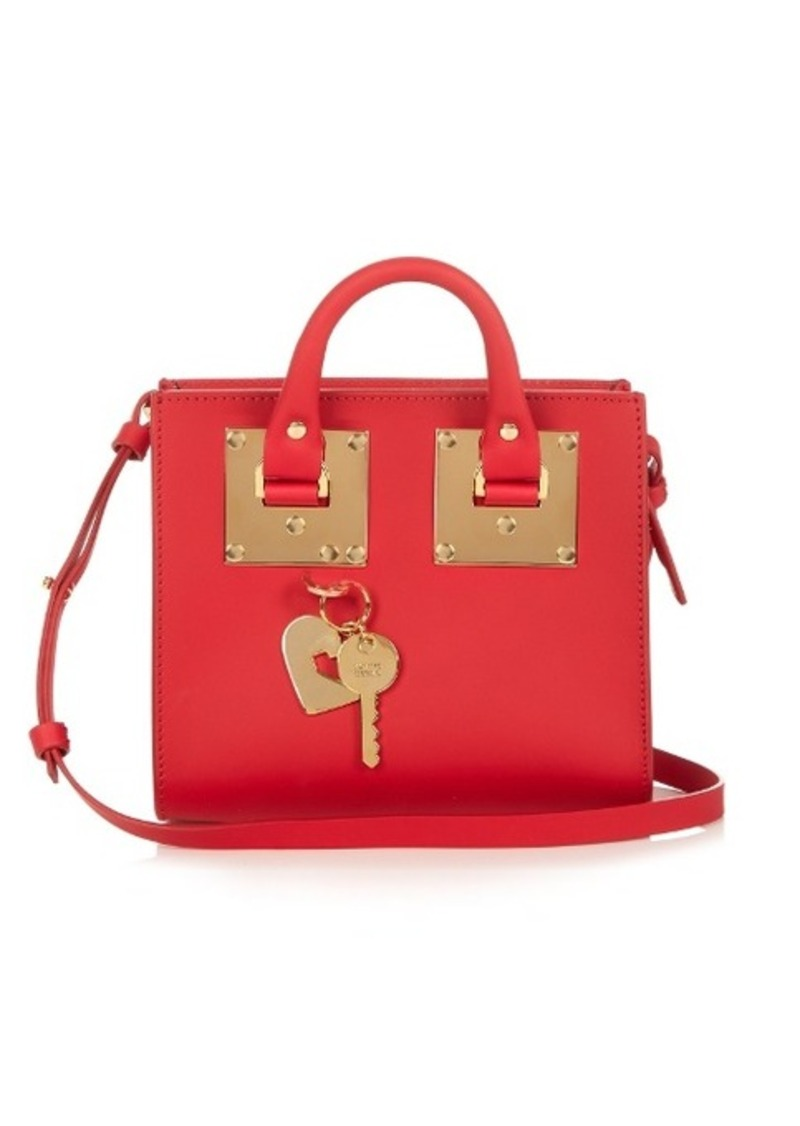 Sophie Hulme Albion Box leather cross-body bag