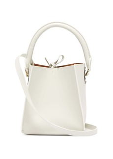 Sophie Hulme Albion Cube nano leather bucket bag