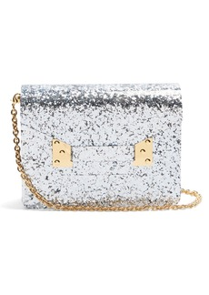 Sophie Hulme Compton glitter cross-body bag