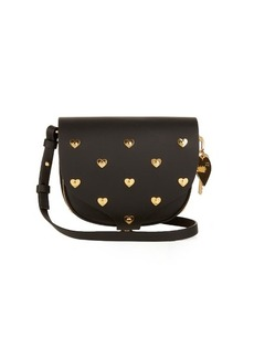 Sophie Hulme Mini Barnsbury studded-heart cross-body bag