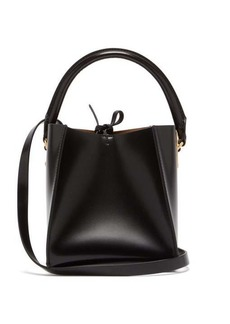 Sophie Hulme Nano Albion Cube leather bucket bag
