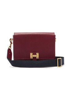 Sophie Hulme Quick small leather cross-body bag