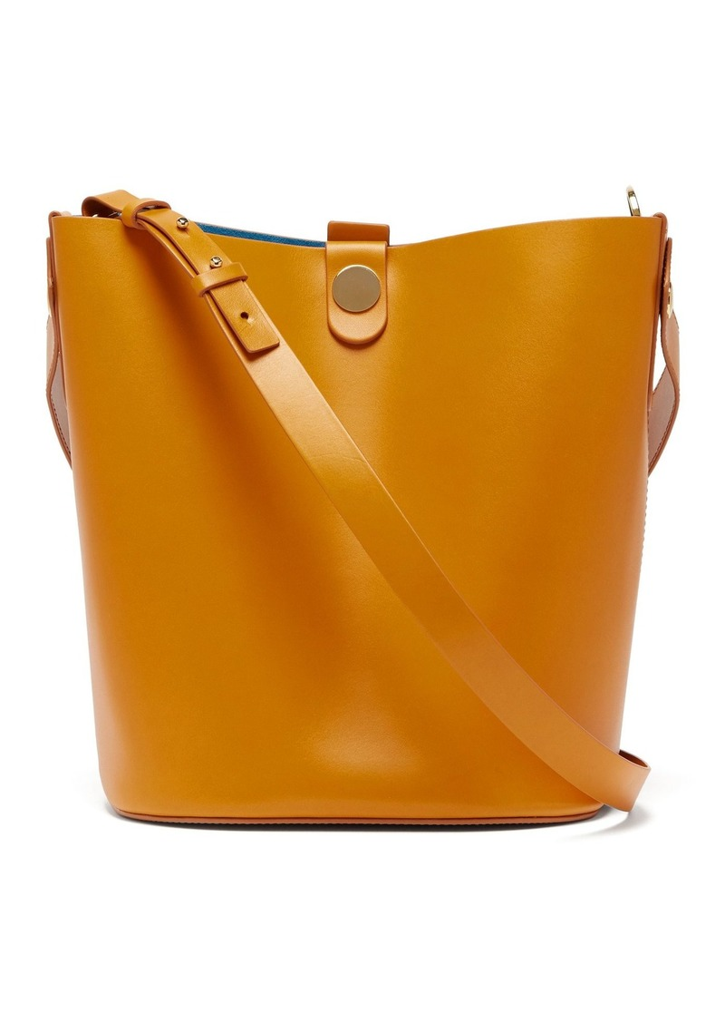 Sophie Hulme Swing large leather bucket bag