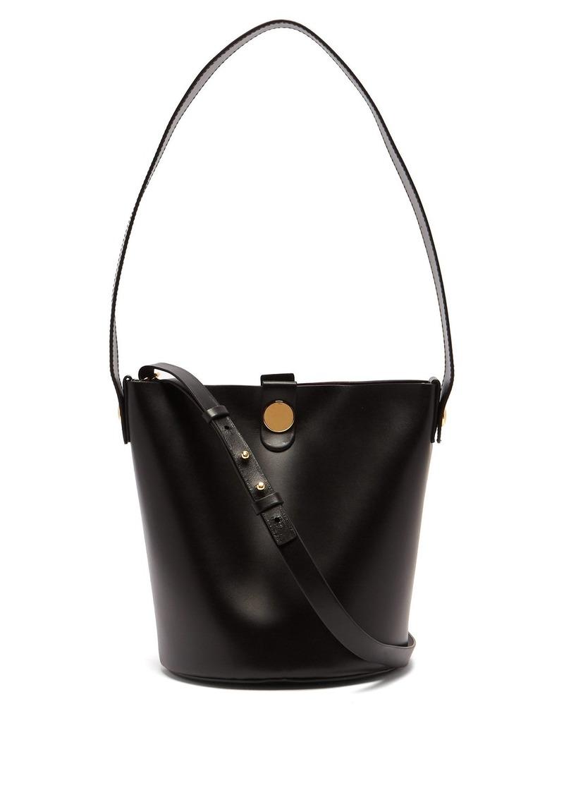 db7342cd473 Sophie Hulme Sophie Hulme Swing leather bucket bag   Handbags