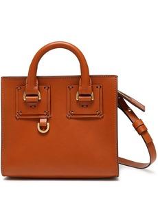 Sophie Hulme Woman Albion Box Leather Shoulder Bag Light Brown