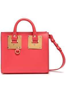 Sophie Hulme Woman Albion Box Leather Shoulder Bag Bubblegum