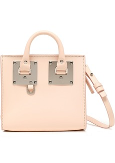 Sophie Hulme Woman Albion Box Leather Shoulder Bag Pastel Pink