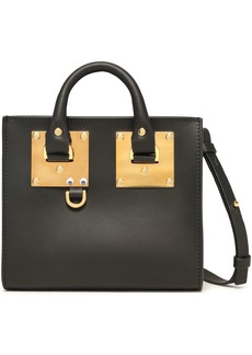 Sophie Hulme Woman Albion Box Matte-leather Shoulder Bag Black