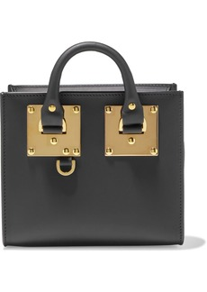 Sophie Hulme Woman Albion Leather Shoulder Bag Black