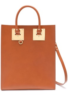 Sophie Hulme Woman Albion Matte-leather Tote Light Brown