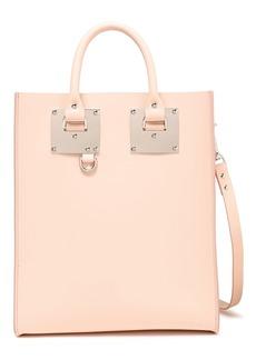 Sophie Hulme Woman Albion Mini Matte-leather Tote Pastel Pink