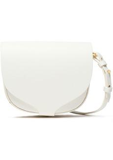 Sophie Hulme Woman Barnsbury Mini Leather Shoulder Bag White