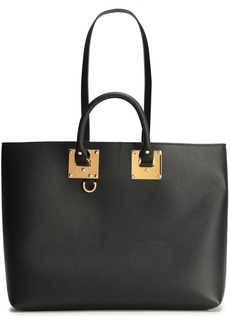 Sophie Hulme Woman Cromwell East West Textured-leather Tote Black