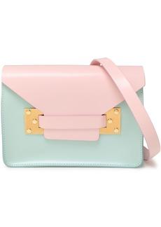 Sophie Hulme Woman Milner Mini Two-tone Leather Shoulder Bag Baby Pink