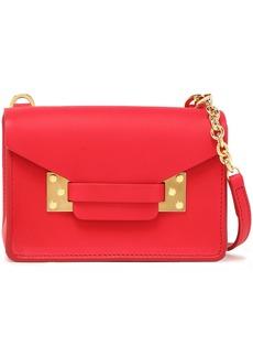 Sophie Hulme Woman Milner Nano Leather Shoulder Bag Red