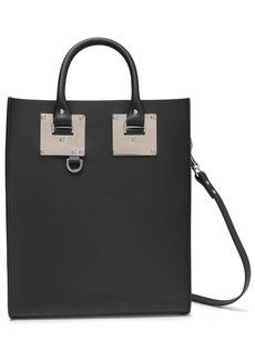 Sophie Hulme Woman Mini Albion Leather Tote Black