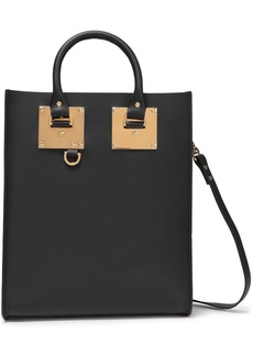 Sophie Hulme Woman Albion Mini Leather Tote Black