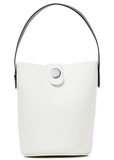 Sophie Hulme Woman Nano Swing Matte-leather Bucket Bag White