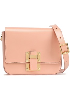 Sophie Hulme Woman The Quick Small Leather Shoulder Bag Peach