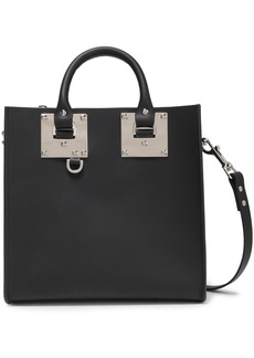 Sophie Hulme Woman Albion Square Leather Tote Black