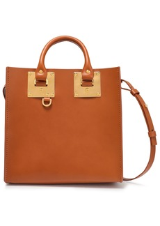 Sophie Hulme Woman Albion Square Leather Tote Tan