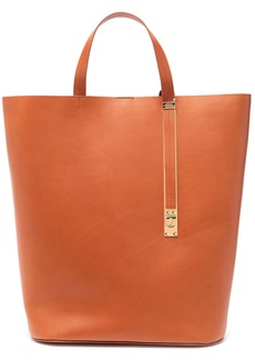 Sophie Hulme Woman The Exchange North South Matte-leather Tote Camel