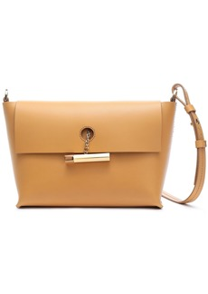 Sophie Hulme Woman The Pinch Leather Shoulder Bag Mustard