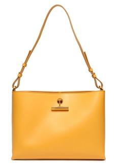 Sophie Hulme Woman The Pinch Medium Matte-leather Shoulder Bag Marigold