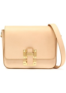 Sophie Hulme Woman The Quick Small Leather Shoulder Bag Neutral