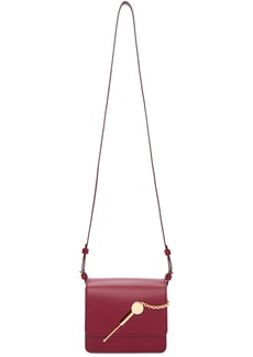 Sophie Hulme SSENSE Exclusive Red Small Cocktail Stirrer Bag