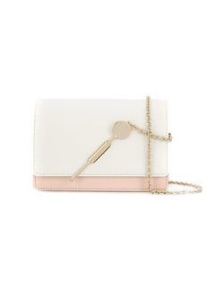 Sophie Hulme two-tone foldover crossbody bag