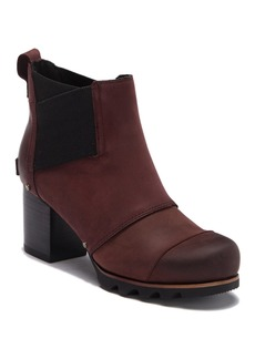 Sorel Addington Waterproof Leather Chelsea Bootie