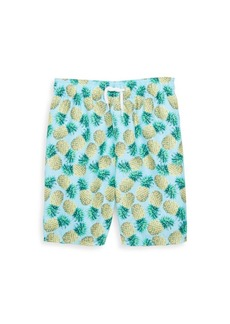 Appaman Baby's, Toddler's, Little Boy's & Boy's Pineapple-Print Mid-Length Swim Trunks