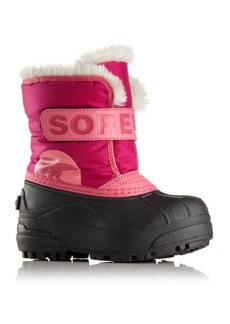 Sorel Baby's, Toddler's & Girl's Snow Commander Faux Fur-Trim Snow Boots