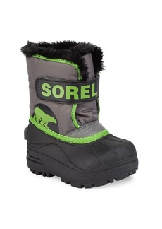 Sorel Baby's, Toddler's & Kid's Snow Commander Faux Fur-Trim Snow Boots
