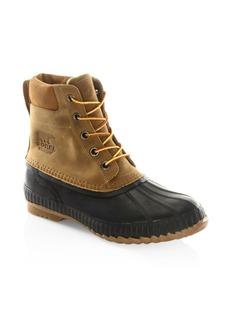 Sorel Cheyanne II Leather Lace-Up Waterproof Boots