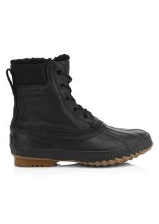 Sorel Cheyanne II Shearling-Lined Waterproof Leather Boots