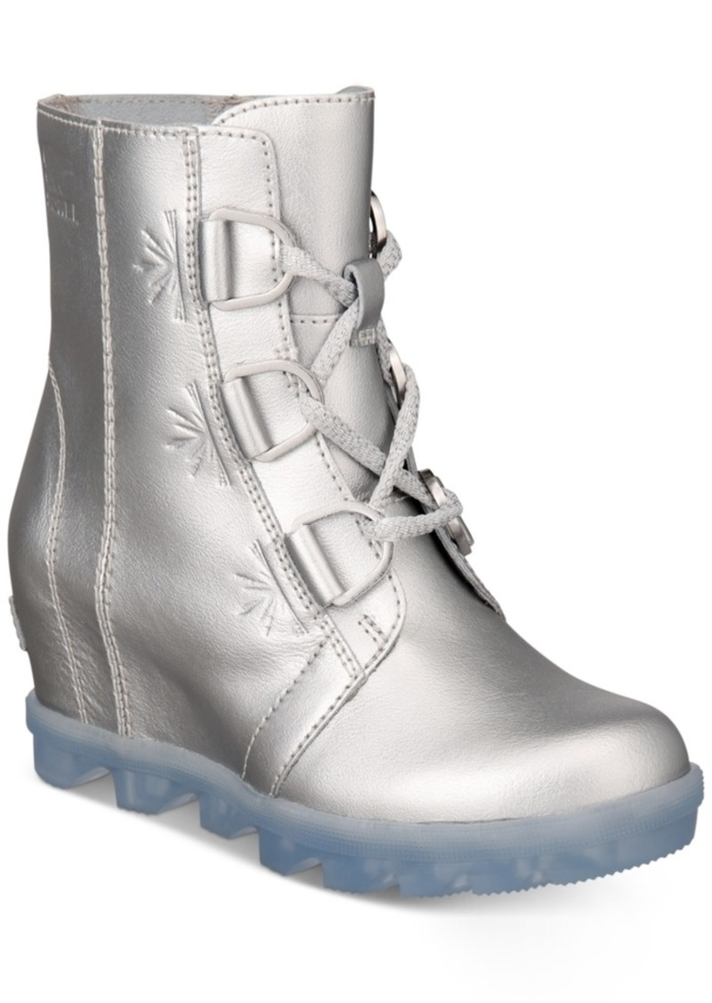 Sorel Disney x Sorel Big Girls Joan Of Arctic Frozen 2 Wedge Boots Women's Shoes