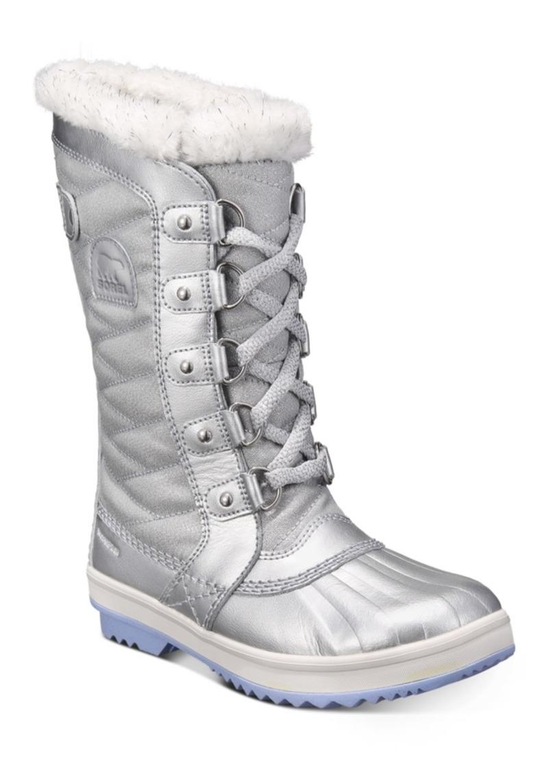 Sorel Disney x Sorel Big Girls Tofino Ii Frozen 2 Boots Women's Shoes