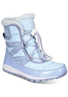Sorel Disney x Sorel Big Girls Whitney Short Frozen 2 Boots Women's Shoes