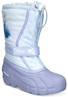 Sorel Disney x Sorel Little Girls Flurry Frozen 2 Boots Women's Shoes