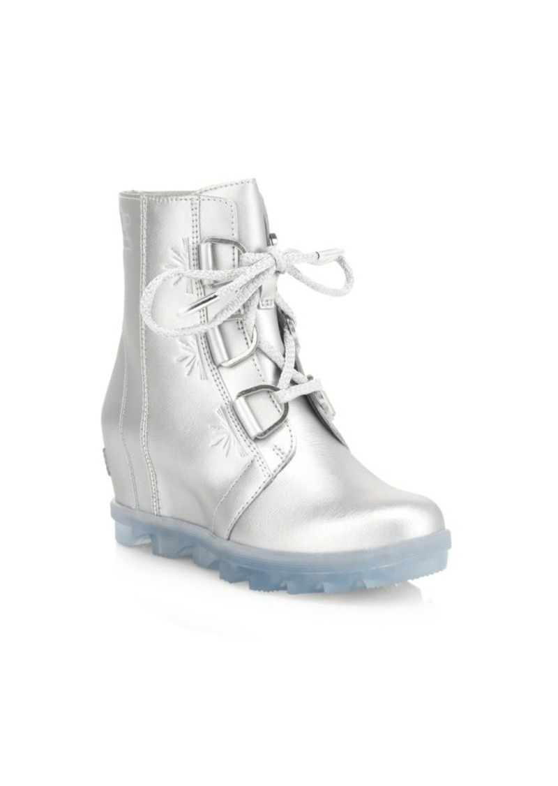 Disney's Frozen 2 x Sorel Girl's Joan of Arctic Waterproof Leather Boots