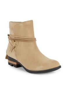 Sorel Farah Waterproof Suede Western Boots