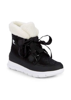 Sorel Faux-Fur Explorer Boots
