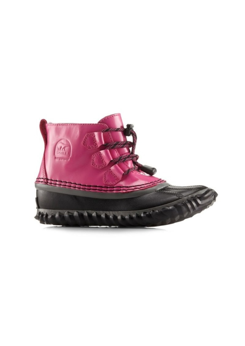 Sorel Baby Girl's Out N About Lace Leather Boots
